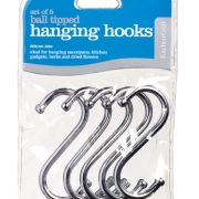80mm utensil hanging hooks