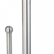 brushed stainless steel kitchen towel holder