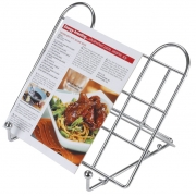 adjustable folding recipe book stand