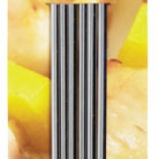 Kitchen craft flat sided stainless steel skewers